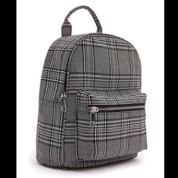 7aa4df3add6b Forever 21 Handbags - Glen Plaid Backpack